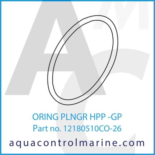 ORING PLNGR HPP -GP