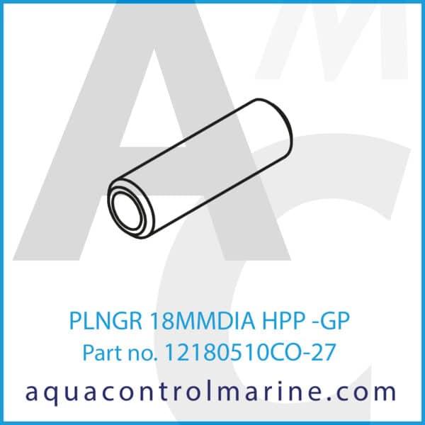 PLNGR 18MMDIA HPP -GP