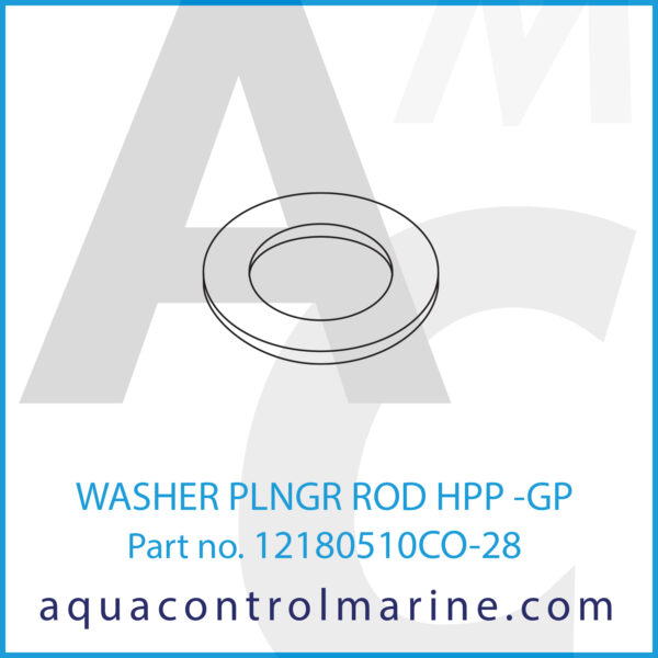 WASHER PLNGR ROD HPP -GP
