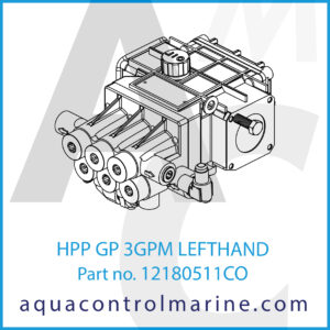 HPP GP 3GPM LEFTHAND