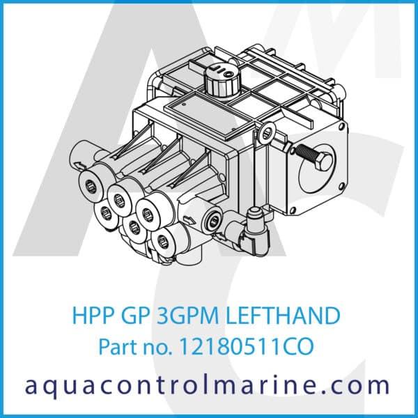 HPP GP 3GPM LEFTHAND