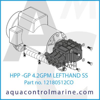 HPP -GP 4.2GPM LEFTHAND SS