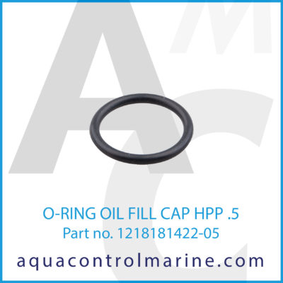 O-RING OIL FILL CAP HPP .5