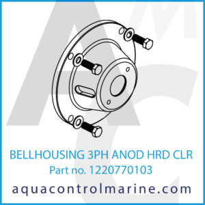 BELLHOUSING 3PH ANOD HRD CLR