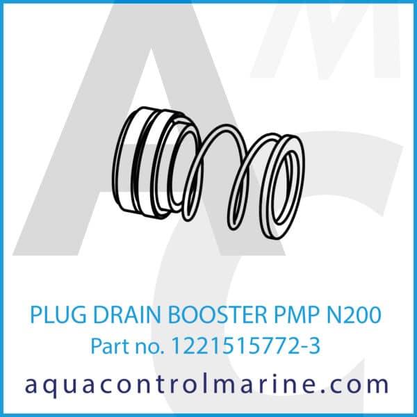 PLUG DRAIN BOOSTER PMP N200