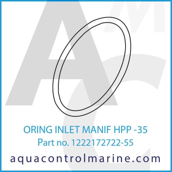 ORING INLET MANIF HPP -35