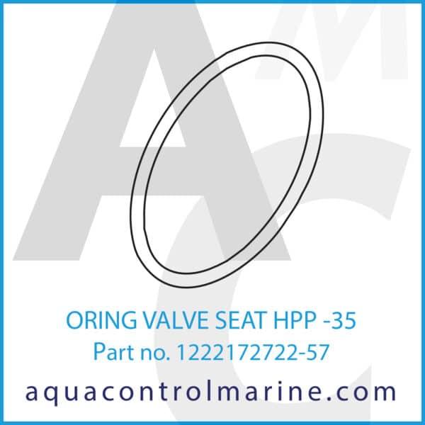 ORING VALVE SEAT HPP -35