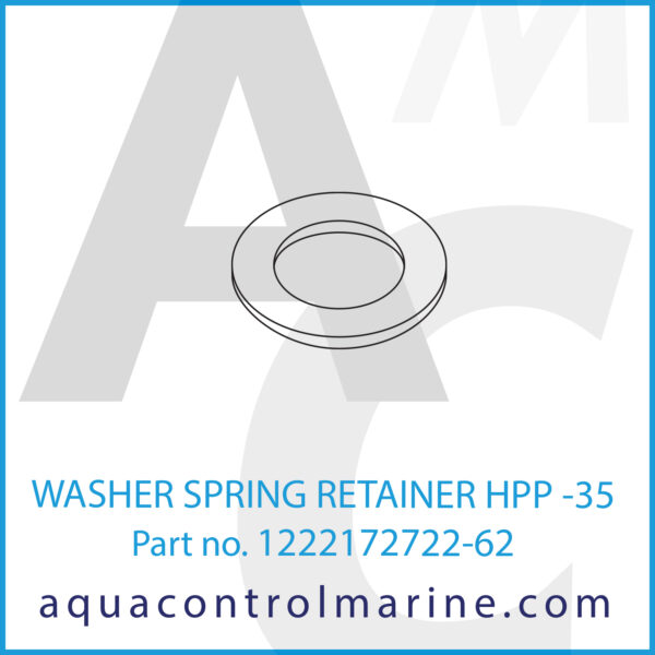 WASHER SPRING RETAINER HPP -35