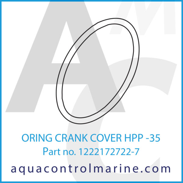 ORING CRANK COVER HPP -35