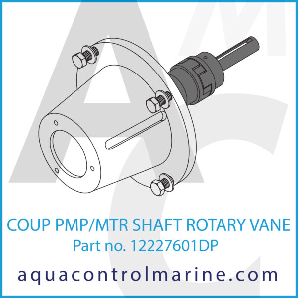 COUP PMP_MTR SHAFT ROTARY VANE