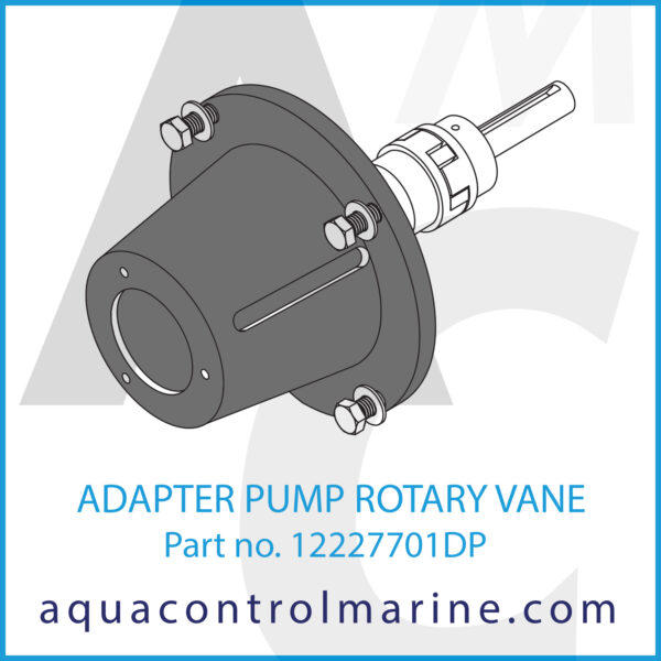 ADAPTER PUMP ROTARY VANE