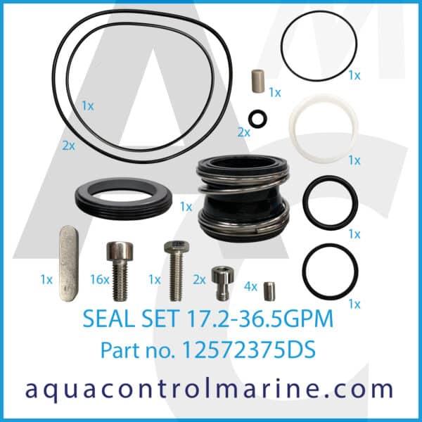 SEAL SET 17.2-36.5GPM