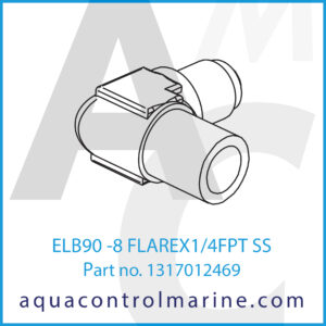 ELB90 -8 FLAREX1_4FPT SS