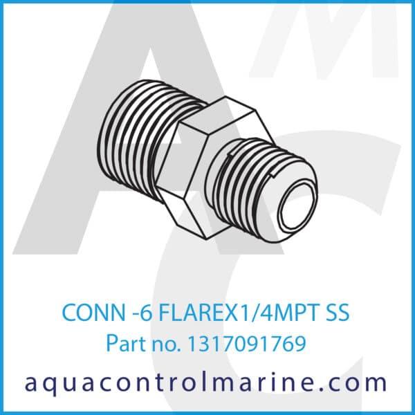 CONN -6 FLAREX1_4MPT SS