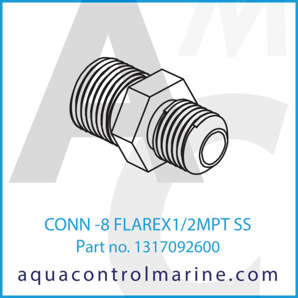 CONN -8 FLAREX1_2MPT SS