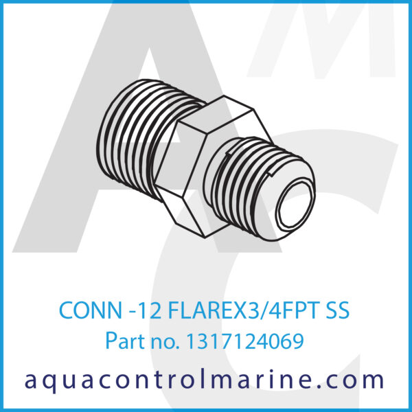 CONN -12 FLAREX3_4FPT SS