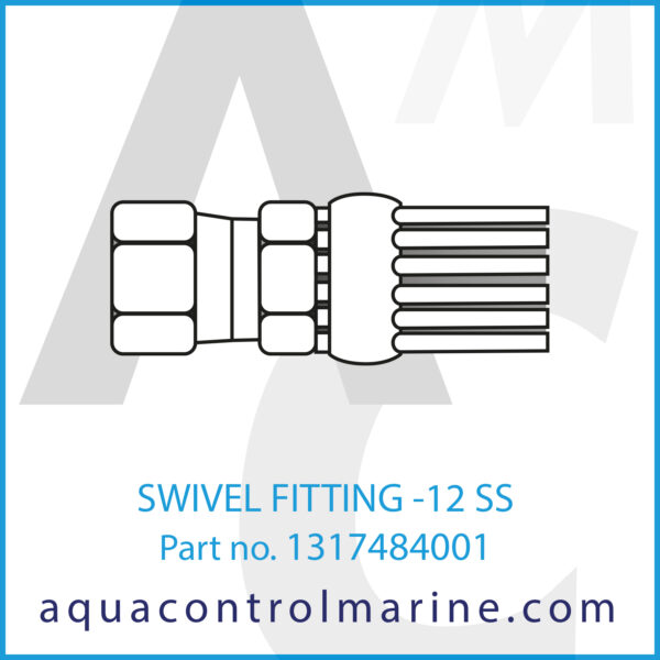 SWIVEL FITTING -12 SS