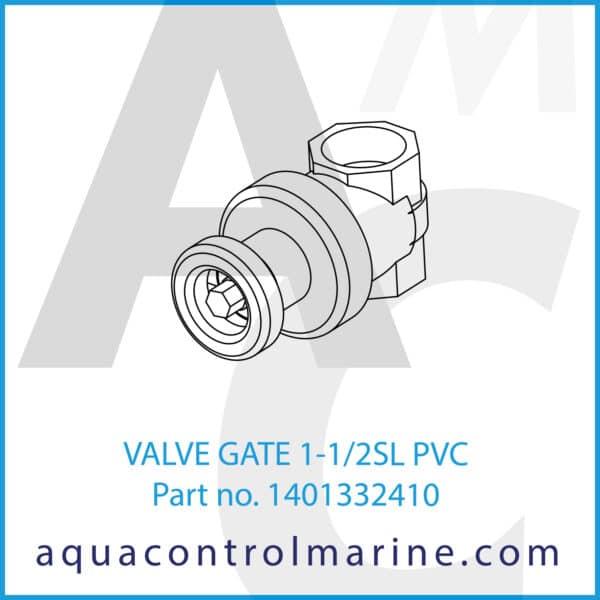 VALVE GATE 1-1_2SL PVC