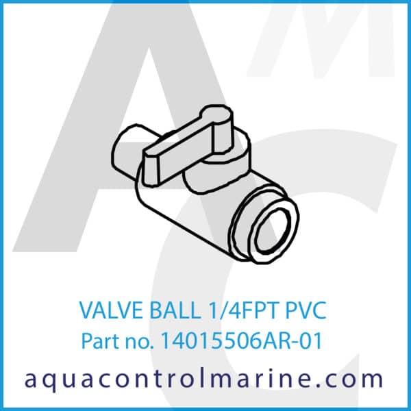 VALVE BALL 1_4FPT PVC