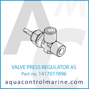 VALVE PRESS REGULATOR AS