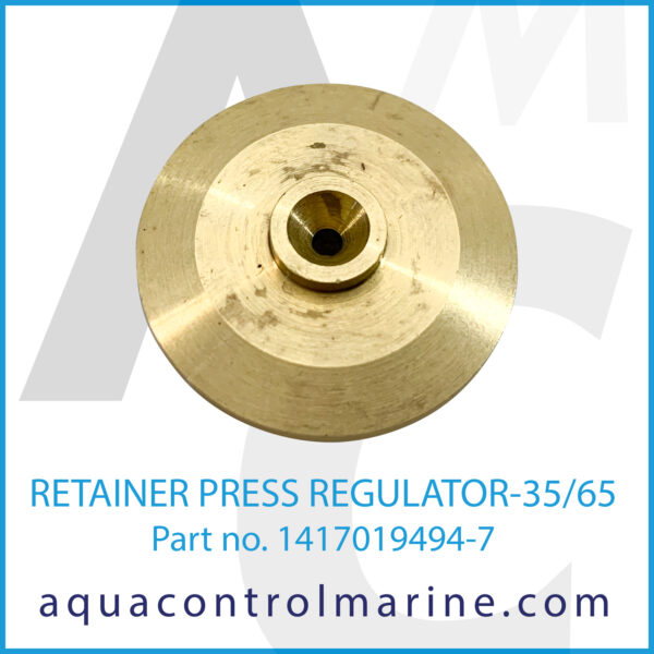 RETAINER PRESS REGULATOR-35_65