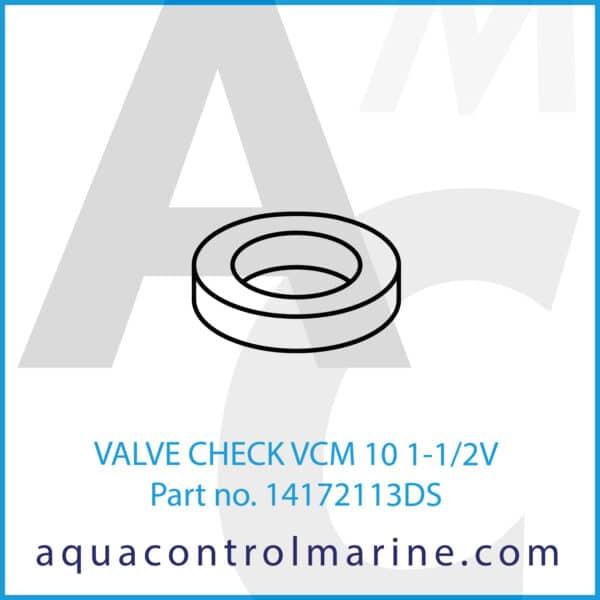 VALVE CHECK VCM 10 1-1_2V