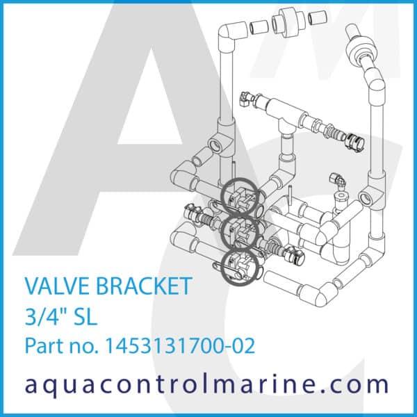 VALVE BRACKET 3_4inch SL_SET