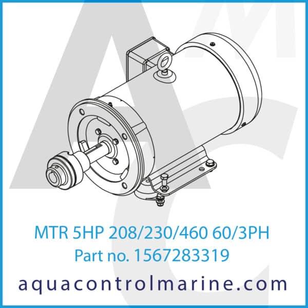 MTR MOD 5HP 3600RPM 190_380_50