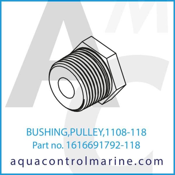 BUSHING,PULLEY,1108-118