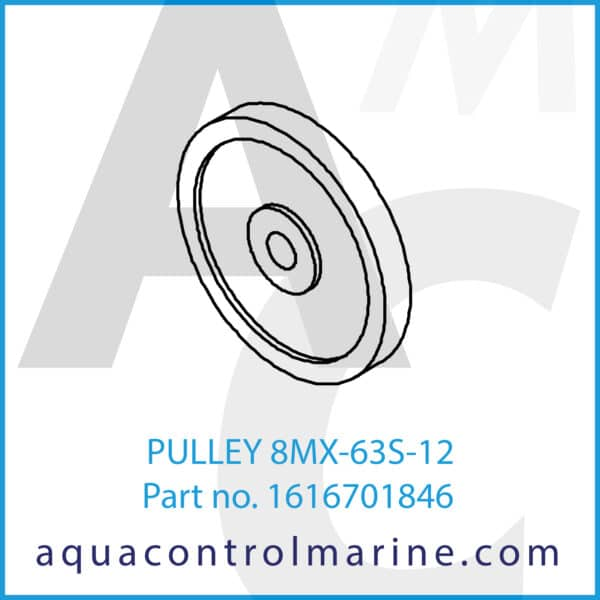 PULLEY 8MX-63S-12