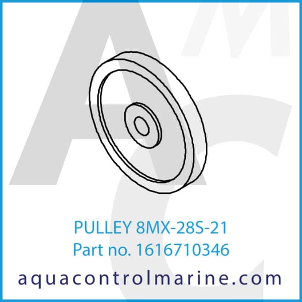 PULLEY 8MX-28S-21