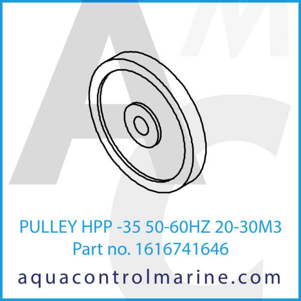 PULLEY HPP -35 50-60HZ 20-30M3