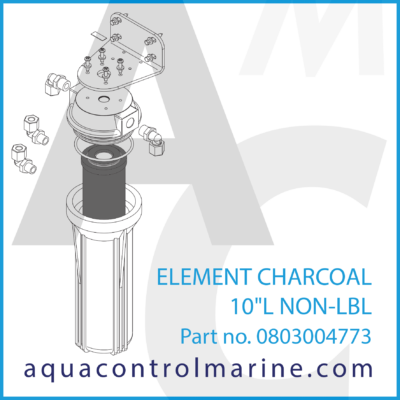 0803004773 - ELEMENT CHARCOAL 10L NON-LBL - part