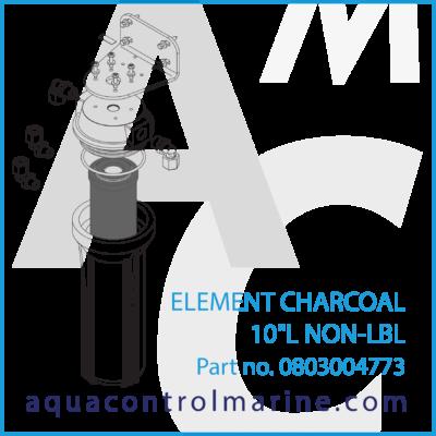 0803004773 - ELEMENT CHARCOAL 10L NON-LBL - part