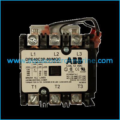 CONTACTOR 30A AW 12-99 12VDC