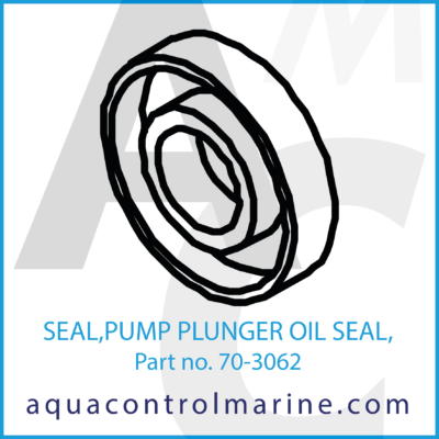 SEAL PUMP PLUNGER OIL SEAL