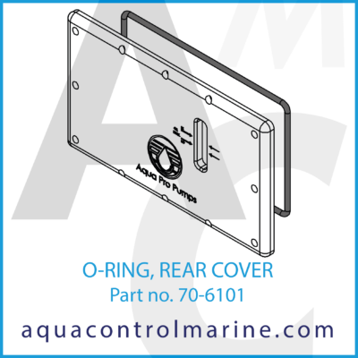 O-RING PUMP CRANKCASE COVER 5P50HD PUMP