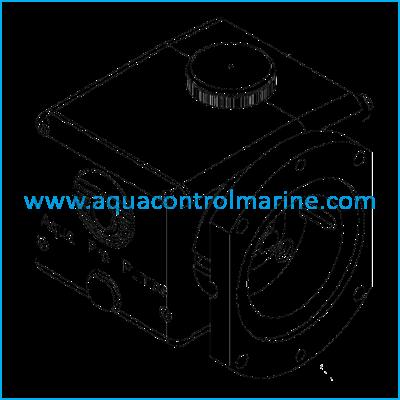CRANKCASE ASSEMBLY 708-3 2.3 GPM PUMP VMT