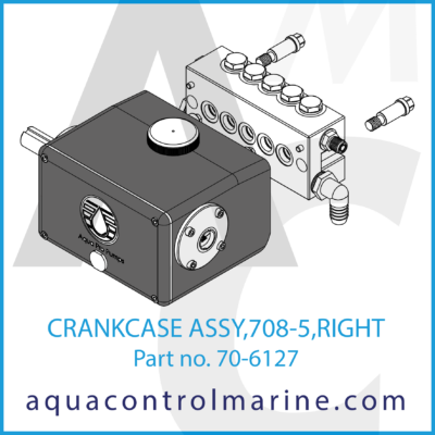 CRANKCASE ASSY 708-5 RIGHT