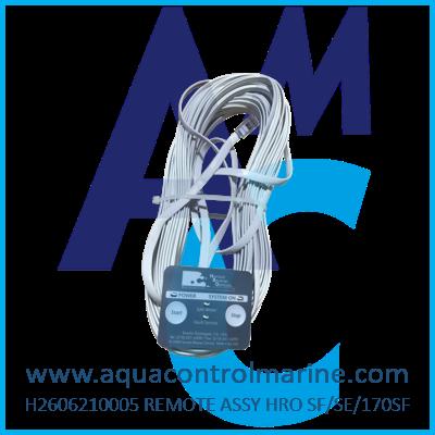 REMOTE ASSY HRO SF/SE/170SF