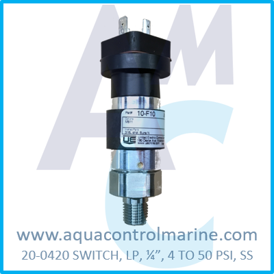 SWITCH LP .25 4 TO 50 PSI SS