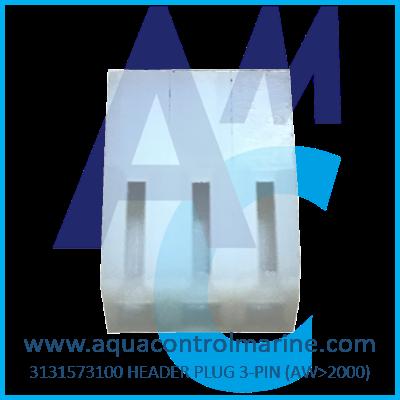 HEADER PLUG 3-PIN (AW>2000)
