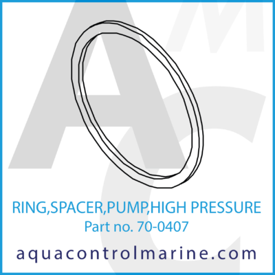 RING SPACER PUMP HIGH PRESSURE