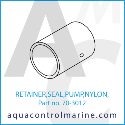 RETAINER SEAL PUMP NYLON