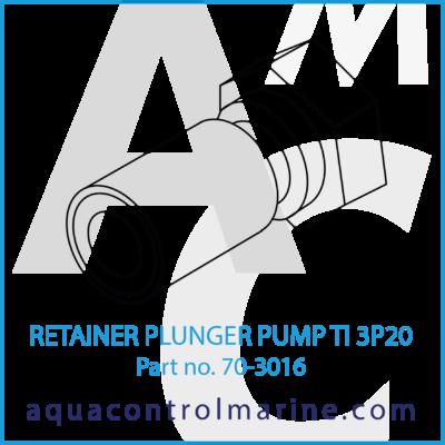 RETAINER PLUNGER PUMP TI 3P20