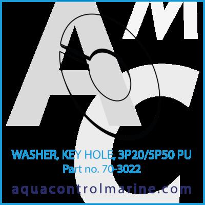 WASHER KEY HOLE 3P20/5P50 PU