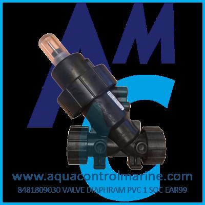 VALVE DIAPHRAM PVC 1 SOC EAR99