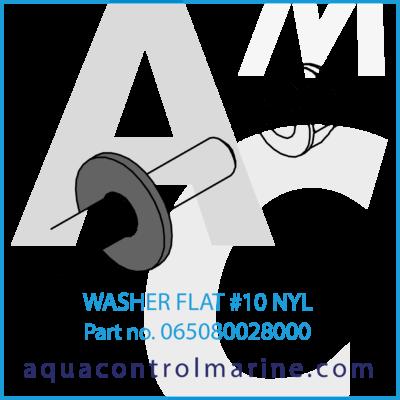 WASHER FLAT #10 NYL
