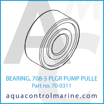 BEARING 708-5 PLGR PUMP PULLE