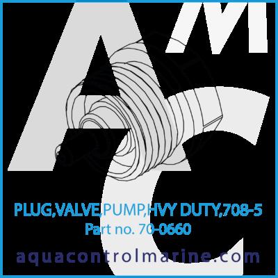 PLUG VALVE PUMP HVY DUTY 708-5